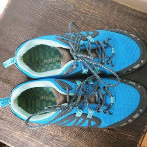 Merrell Shoes - Merrell Womens Hiking Shoes Proterra Vim Sport S/8